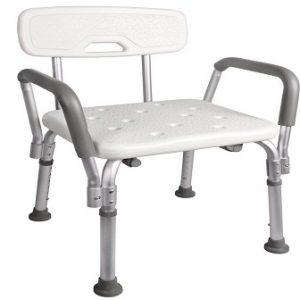یک نمونه صندلی حمام دسته دار مدل کالوین